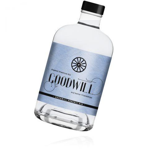 Flasche Goodwill Organic Gin - Goodwill Spirits